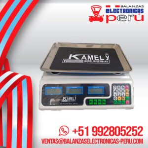 Balanza Digital Comercial Kamely ACS de 40 Kilos